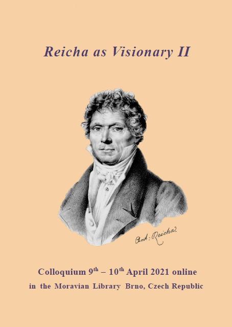 Journées d'étude / Colloquium Reicha as Visionary II 9 et 10 avril 2021 en ligne