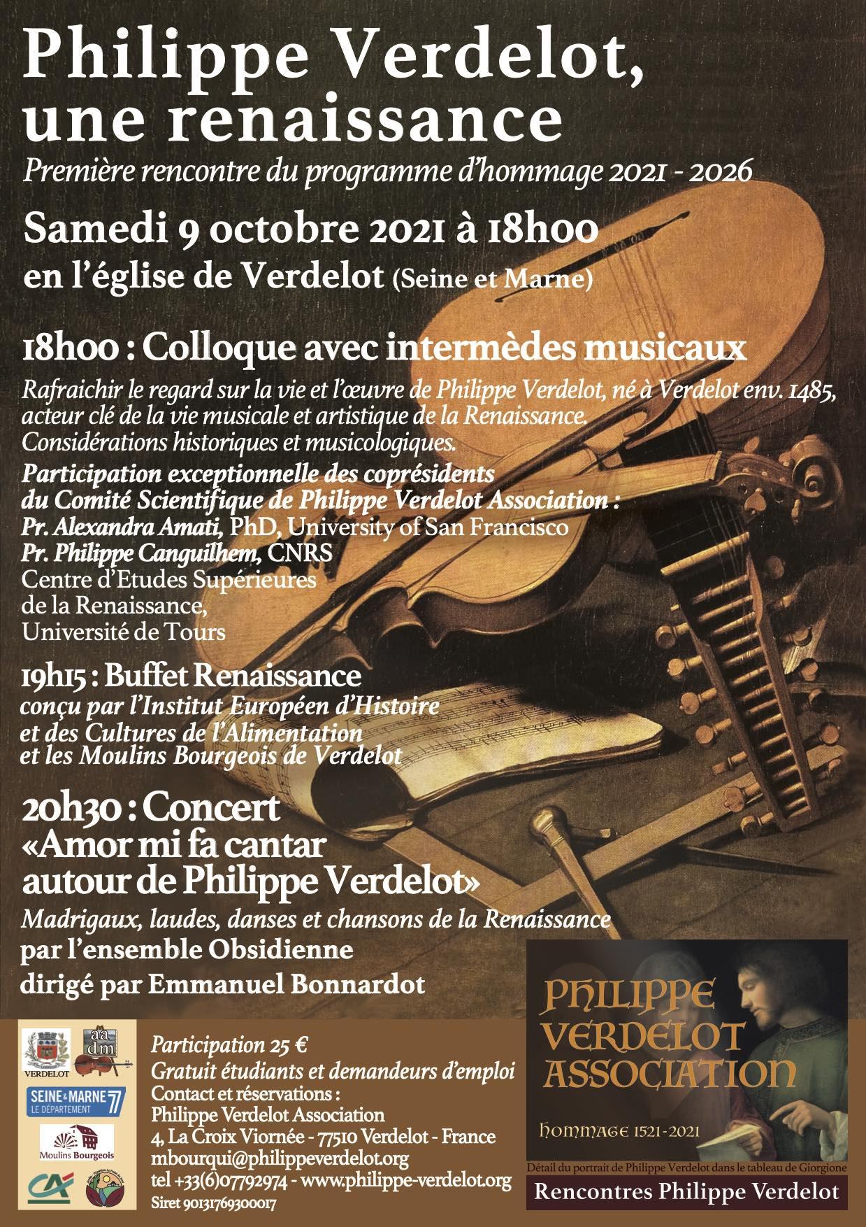 Rencontres Philippe Verdelot