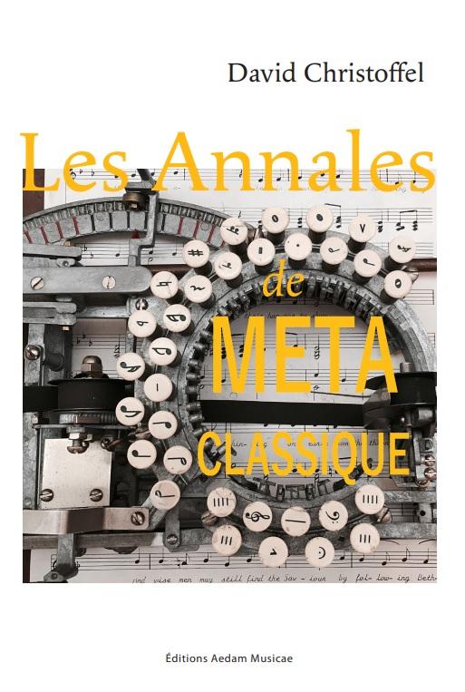 Les Annales de Metaclassique, vol. I}
