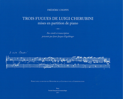 Trois fugues Cherubini