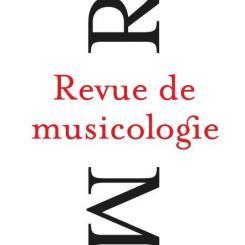 Revue de musicologie 106/2