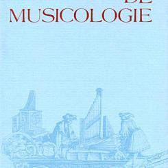 La Recherche en organologie, Les instruments de musique occidentaux, 1960-1992, dossier coordonné parFlorence  Getreau
