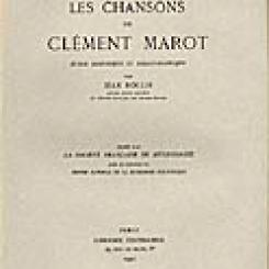 Jean  Rollin, Les chansons de Clément Marot.