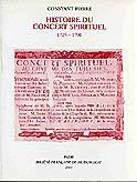 Constant Pierre, Histoire du Concert spirituel (1725-1790).