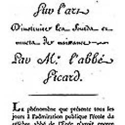2003 - Le Musée de Bordeaux et la musique, 1783-1793.