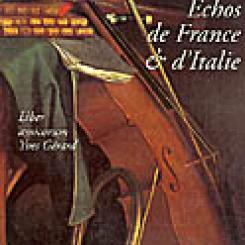 Echos de France et d'Italie : liber amicorum Yves Gérard.